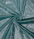 Let\u0027s Pretend Glitter Panne Fabric-Blue