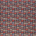 Novelty Cotton Fabric-Route 66 Americana