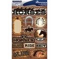 Reminisce Signature Dimensional Stickers Horses