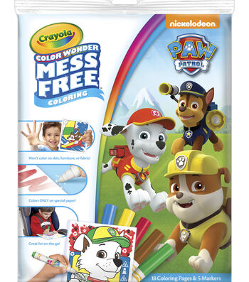 Crayola Color Wonder-Paw Patrol