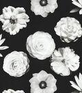 IMAN Home Upholstery Fabric 54\u0022-Fresh Flower Onyx