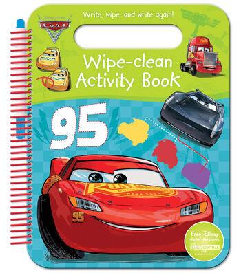Parragon Disney Pixar Cars 3 Wipe-Clean Activity Book