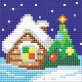 RIOLIS Diamond Mosaic Embroidery Kit 4\u0027\u0027X4\u0027\u0027-Christmas Eve