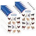 Carson Dellosa Farm Animals Photographic Stickers 12 Packs