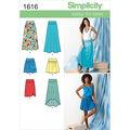 Simplicity Pattern 1616R5 14-16-18-2-Simplicity Misses Sk