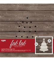 Fab Lab Tree-Wood Light Kit, , hi-res