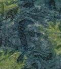 Legacy Studio Batik Cotton Fabric 43\u0022-Wavy Stripes