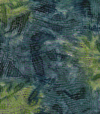 "Legacy Studio Batik Cotton Fabric 43""-Wavy Stripes"