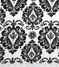 Keepsake Calico Cotton Fabric 42\u0022-White Damask