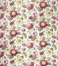 Home Decor 8\u0022x8\u0022 Fabric Swatch-SMC Designs Maplewood / Pomegranate