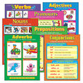 Seven Parts of Speech Learning Charts Combo Pack Set of 7