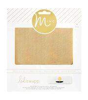 Heidi Swapp Minc 4 pk 6''x6'' Glitter Foil Sheets-Gold, , hi-res