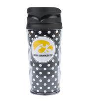 University of Iowa Hawks Polka Dot Travel Mug, , hi-res