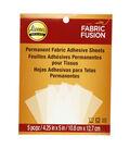 Aleene\u0027s Fabric Fusion Sheets Peel & Stick