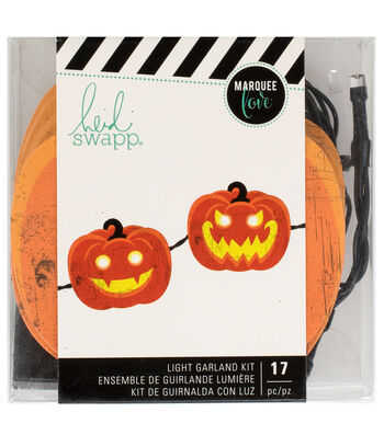 Heidi Swapp Hocus Pocus Garland-Pumpkins