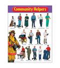 Community Helpers Learning Chart 17\u0022x22\u0022 6pk