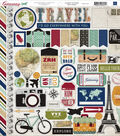 Getaway Cardstock Stickers 12\u0022X12\u0022-Element