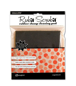 "Inkssentials Rub-It Scrub-It Stamp Cleaning Pad-6""X6"""