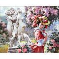 Collection D\u0027Art Diamond Embroidery/Gem Kit 48X38cm-The Four Graces
