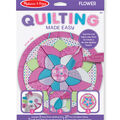 Melissa & Doug Quilting Made Easy Flower Craft Kit