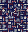Snuggle Flannel Fabric-All Star Team Player