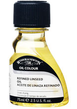 Winsor & Newton Refined Linseed Oil-75ml, , hi-res
