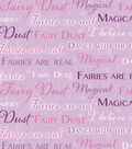 Snuggle Flannel Fabric -Magic Fairy Dust