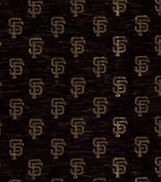 San Francisco Giants Knit Fabric -Foil Logo, , hi-res