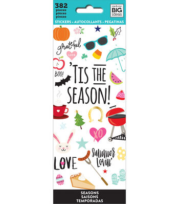 The Happy Planner Stickers-Tis The Season