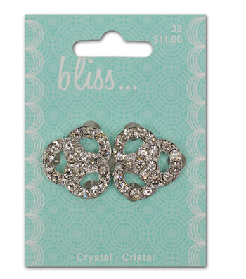 Bliss Crystal Triple Ring Buckle