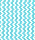Quilter\u0027s Showcase Cotton Fabric-Chevron Blue Radiance/White