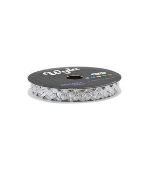 Wyla Metallic Ric Rac Silver 2