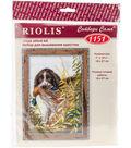 RIOLIS 7\u0027\u0027x10.75\u0027\u0027 Counted Cross Stitch Kit-Hunting Spaniel