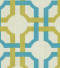 Home Decor 8\u0022x8\u0022 Fabric Swatch-Waverly Groovy Grille Spa