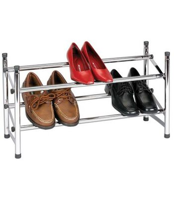 Household Essentials Expandable Stackable Shoe Rack