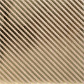 Bazzill Foiled Kraft Gold Stripe Cardstock