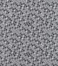 Snuggle Flannel Fabric-Light Gray Dots