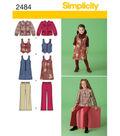 Simplicity Pattern 2484K5 7-8-10-12--Simplicity Child Gir