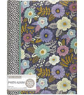 K&Company Simple Floral 3 Up Spiral Memo Photo Album