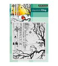 Penny Black Winter Song Cling Rubber Stamp