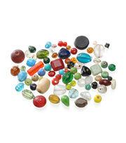 Darice Glass Beads-16oz/Multi, , hi-res