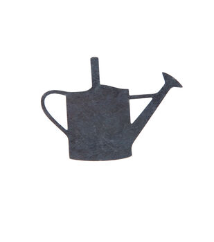 Simply Spring 4''x2.9'' Unfinished Metal Watering Can