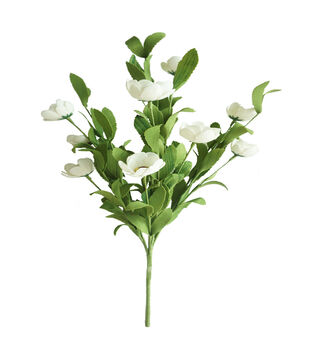 Fresh Picked Spring 20'' Blossom Bush-White