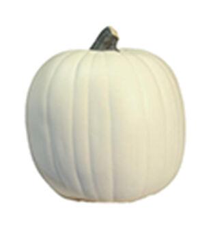 Fun-Kins Halloween 9'' Carvable Pumpkin-White