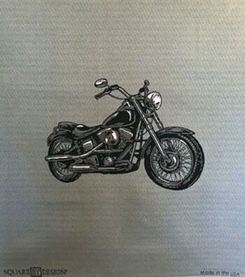 """Square By Design Woven Fabric 25""""-Motorcycle"""