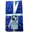 Fat Quarter Cotton Fabric Bundle 18\u0027\u0027x21\u0027\u0027-Purple Batik