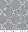 Waverly Upholstery Fabric 13x13\u0022 Swatch-Ready to Roll Emb Thunder