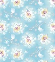 Disney Frozen Cotton Fabric-Elsa Metallic Badges, , hi-res