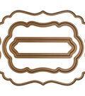 Gina K Designs 3 Nested Decorative Label Dies-.625\u0022 To 3.75\u0022