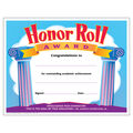 Honor Roll Award Colorful Classics Certificates, 30 Per Pack
